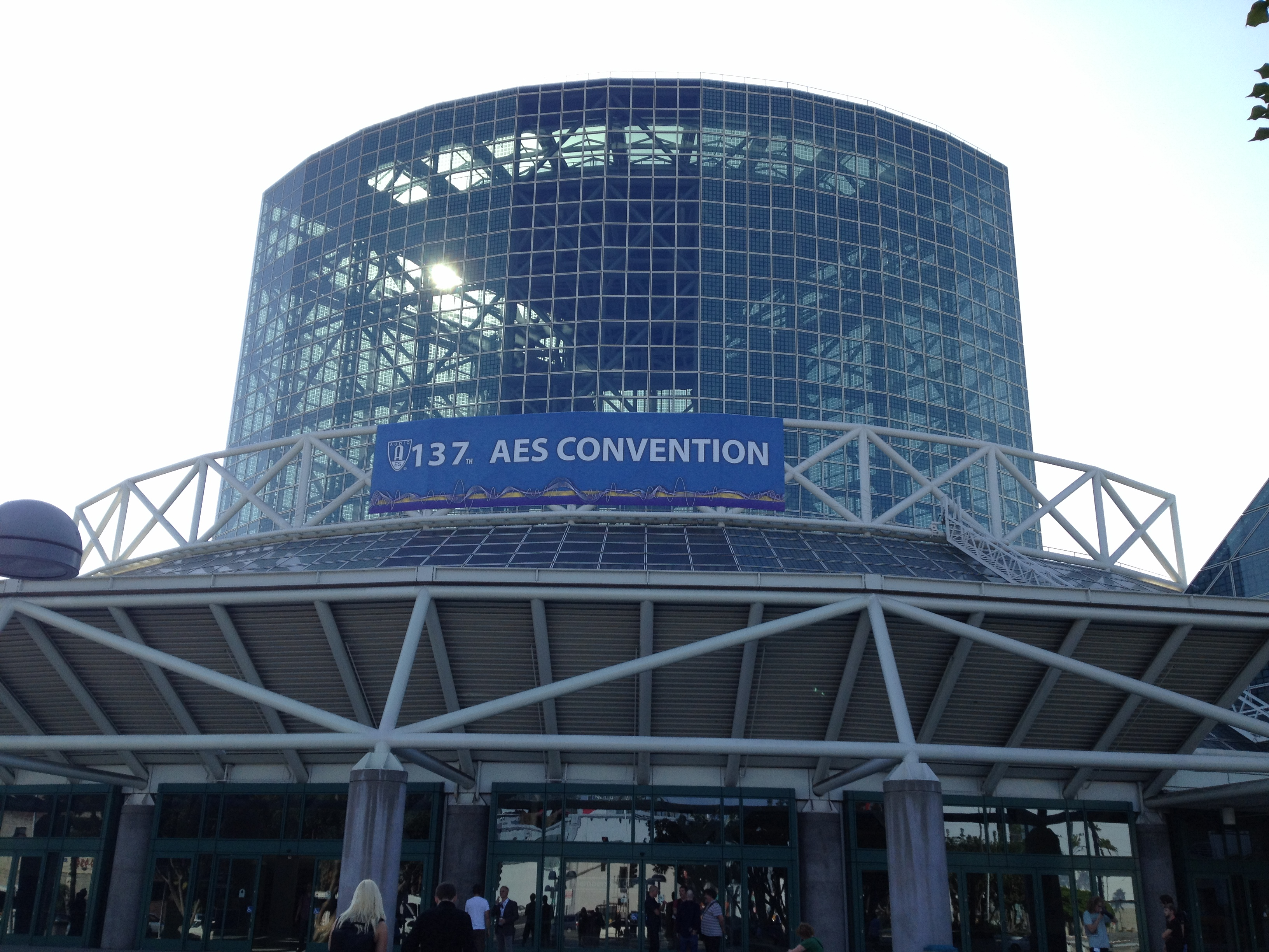 Audio Engineering Society 137th Convention, Los Angeles, 9-12 October 2014